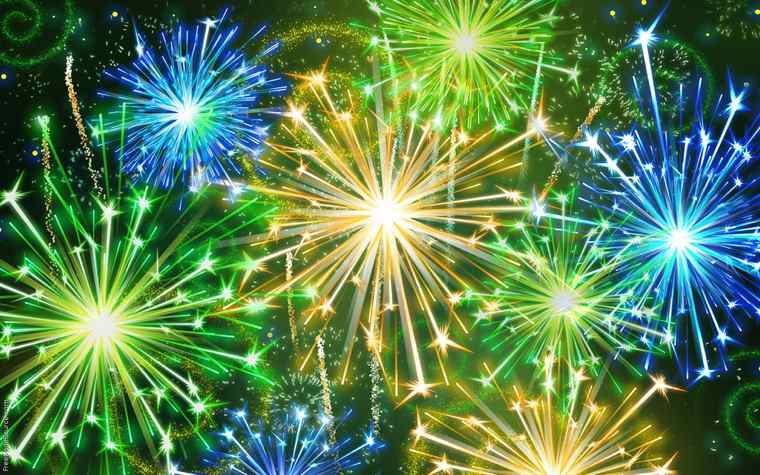 Quest'anno scriverò il mio libro | Fuochi d'artificio di Capodanno