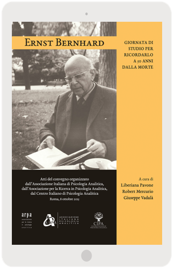 Ernst Bernhard | La copertina del libro