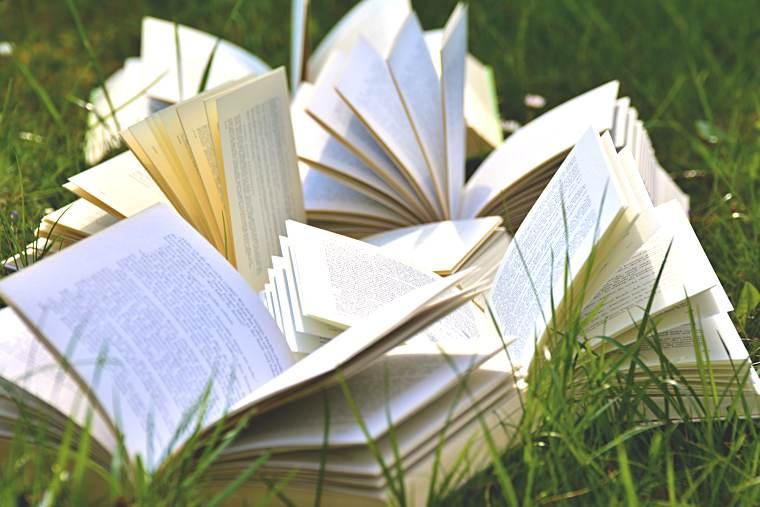 Pubblicare un libro: alcuni libri aperti